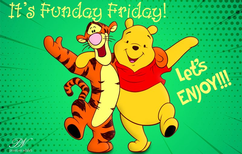 It's Friday, It's Funday!